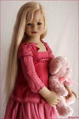 Sini has arrived ! (MiriamBJDolls) Tags: bear doll vinyl 2008 limitededition sini annettehimstedt himstedtkinder summerkinder