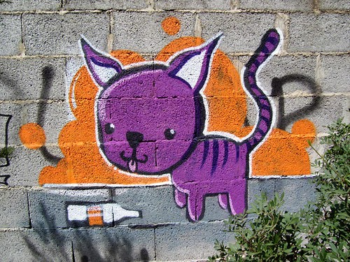 Purple Cat Coke