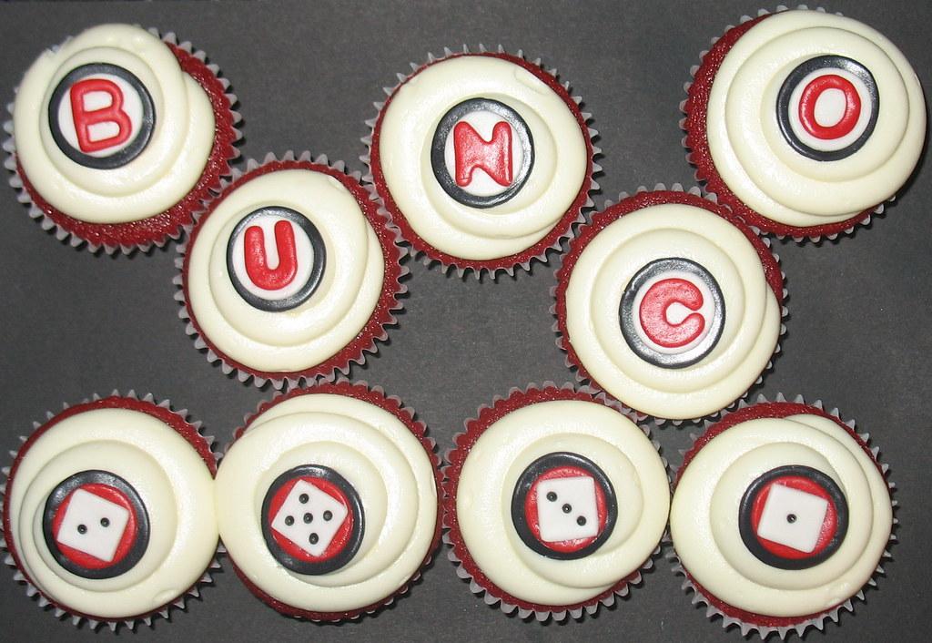 bunco cupcakes