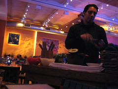 Guy Makes Guacamole at Rosa Mexicano Union Square