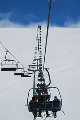 Sessellift (MarcusKroeger) Tags: schnee ski berg lift sessellift gerlos