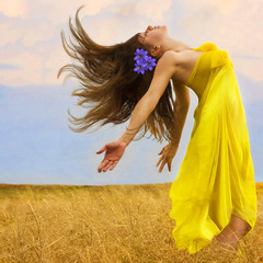 supplication (Daneli) Tags: selfportrait color art girl beautiful grass yellow panties scarf photoshop self canon hair artistic wind florida lol dana verobeach dirtygirl justimagine daneli overtheexcellence thankyouloriforyourhelp lolonthepanties heyigot2viewsjustoffthatalone