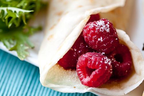 Berry Crêpe au Sucre