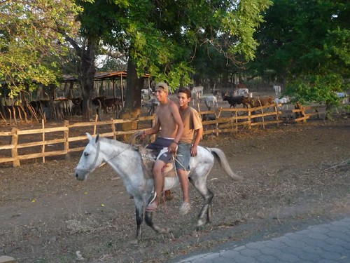 Local cowboys on Isla Ometepe...