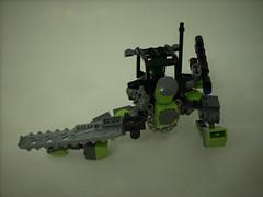 Green Mech, Booty (Brick Farmer) Tags: green power lego mech miners