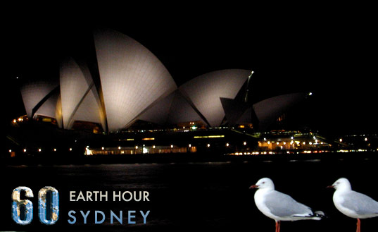 Earth Hour 2009, Sydney