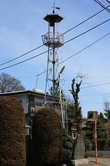 所沢新田の火の見櫓(所沢市)