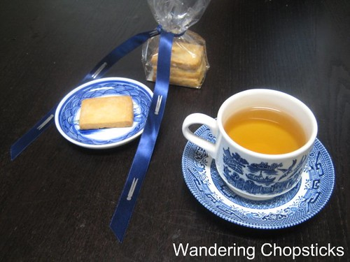 Afternoon Tea with French Laundry Shortbread Cookies from Gourmet Pigs