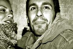 giulia e bob (D  S) Tags: boy portrait bw girl smile canon flickr chica sorriso chico ragazza ragazzo armo eos400d davidsaccoes davidsaccophotography