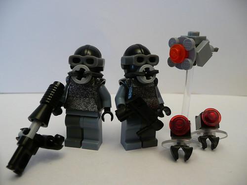 Half Life 2: Combine Soldier custom minifigs