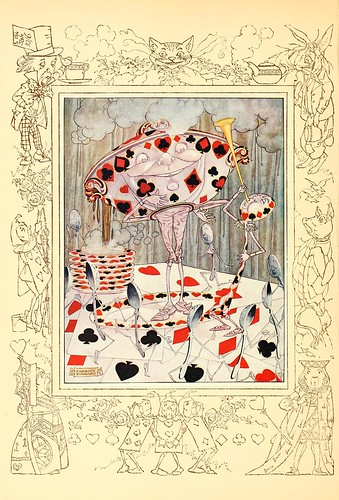 030-Charles Folkard- Songs from Alice in wonderland and Through the looking-glass 1921