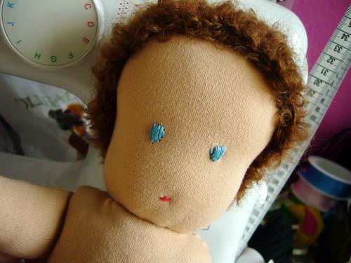 steiner doll - wip.