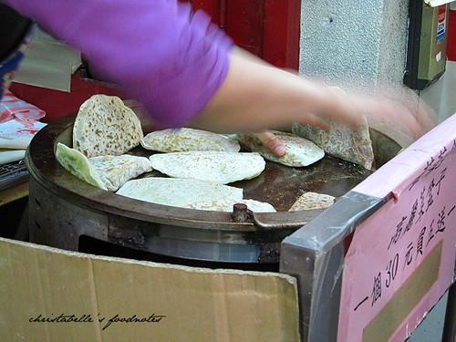 江蘇菜盒子攤位