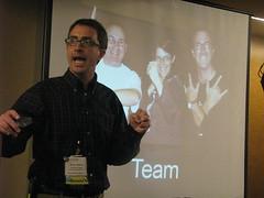 Steve (Photos o' Randomness) Tags: libraries steve computers librarians lawson unconferences cil2009 cil09
