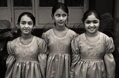choir girls (nandadevieast) Tags: travel girls bw india dress anuragagnihotri nandadevieast