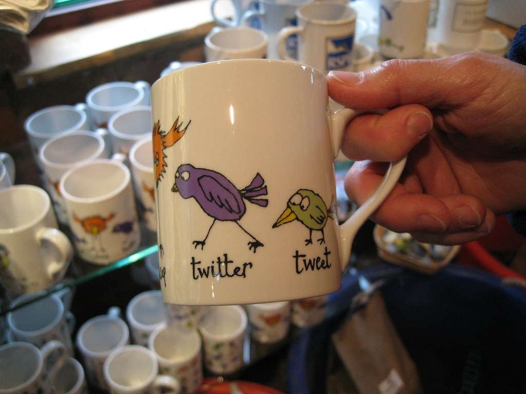 'Twitter mugshot', on Flickr, by John Naughton