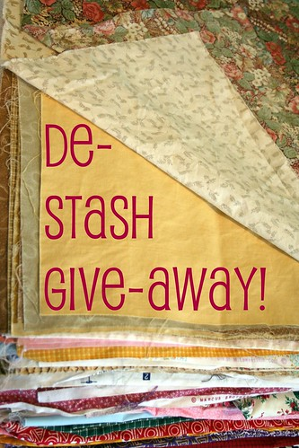 Momma's De-Stash Giveaway