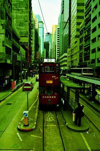 Hong Kong 2009 - Tram Trip (1)