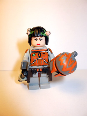 Mandalorian Female custom minifig
