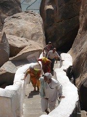 Climbing for Darshan (Prayer)