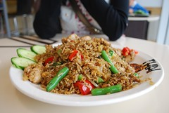 Basil Fried Rice with Chicken - Mint Tha by avlxyz, on Flickr
