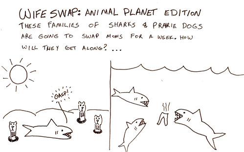 366 Cartoons - 076 - Wife Swap