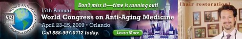 Dr. Bauman to lecture at the World Congress on Anti-Aging Medicine
