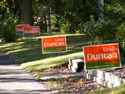 Elect Linda Duncan