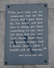 Mitch Snyder 1943-1990