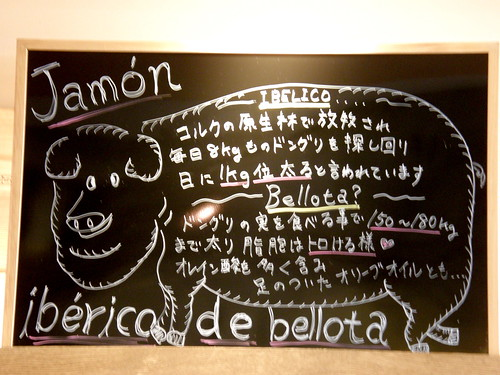 #3613 jamón ibérico sign: Ibelico [sic]