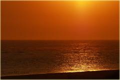 Sunless Sunset (Kirsten M Lentoft) Tags: sunset sea beach water denmark northsea jutland vesterhavet blåvand blaavand kirstenmlentoft