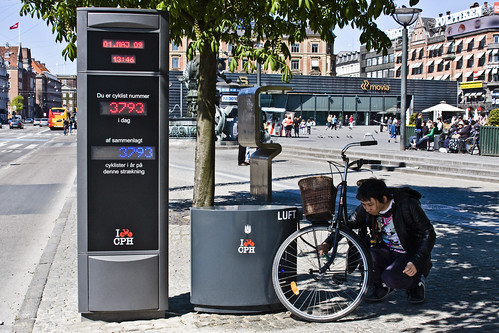 Bicycle Counter With Air