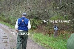 Keith is trespassing!