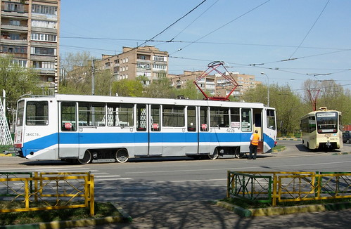 Moscow tramway ©  SergeyRod