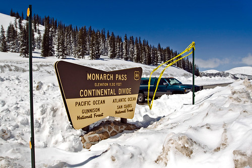 Welcome to the Continental Divide, at 11,312 feet above sea level!