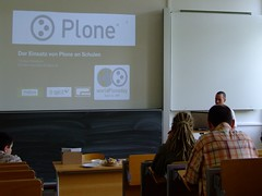 World Plone Day 2009 in Leipzig (it-spirit) Tags: plone leipzig workshop vortrag htwk worldploneday woldploneday