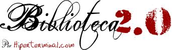 Logo del taller Biblioteca 2.0