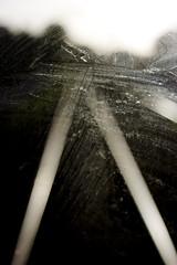 (Alienated Romantic) Tags: window tracks dirty streetcar stam sprvagn fnster spr skitigt