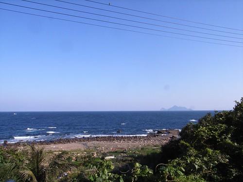 天氣好到可以看到龜山島
