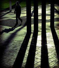 Love The Light (JP.G) Tags: life street city shadow people art stone female canon newcastle eyecontact photographer floor centre pillar citylife photograph stare civic runaway civiccentre g9 runawayrunaway canong9