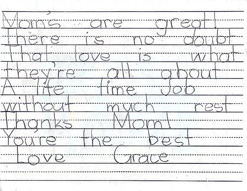 Gracie Card Inside