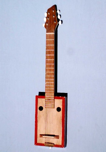 Cigar Box Guitar front