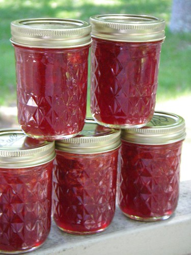 Strawberry Jam - look at all that red!