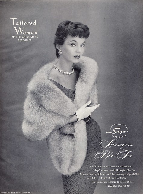 Adored Vintage Vintage Vogue 1955 Mary Jane Russell
