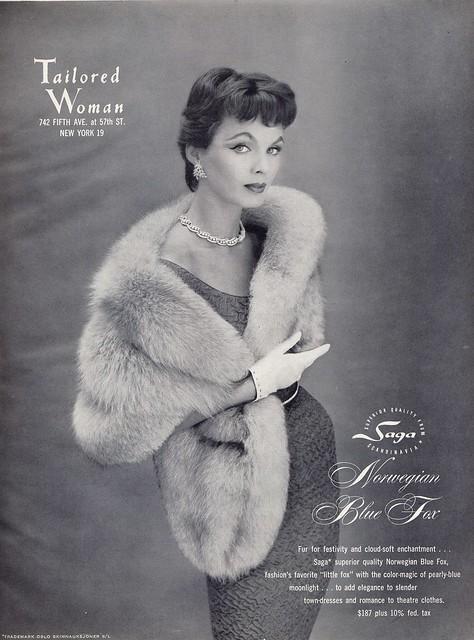 Vintage Fur Fox Stole