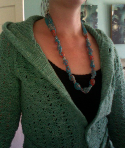 i'm adding fabric florence flea market inspired necklaces to my shoppe