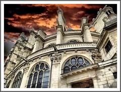Saint Eustache / church in Paris HDR /FUJIFILM FINEPIX S100FS (mamasuco) Tags: paris france church saint finepix fujifilm eglise hdr eustache sainteustache eglisesainteustache dphdr s100fs fujifilmfinepixs100fs
