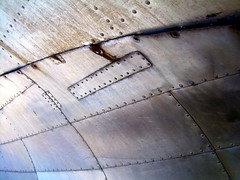 streaming 2 (dmixo6) Tags: blue canada abstract metal museum silver aluminum bc steel airplanes planes dmixo6