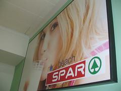 X-Board _Spar Sign North Beach - Framed 16mm X-Board