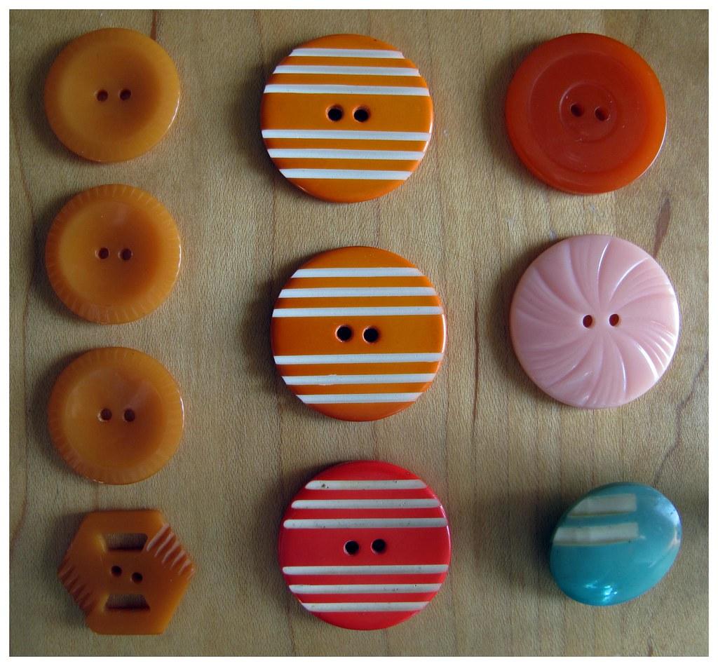 Bakelite Vintage Buttons